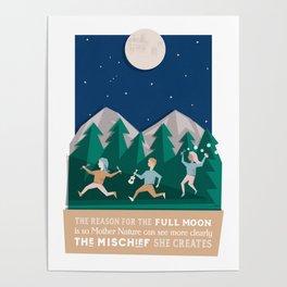 Full moon mischief Poster