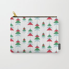 MCM Christmas Tree Forest Carry-All Pouch