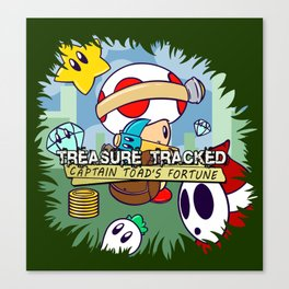 Treasure Tracked: Captain Toad's Fortune Canvas Print