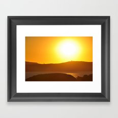 Sunset 3 Framed Art Print