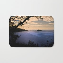 Thatchers Rock and Hope's Nose At Sunset Bath Mat