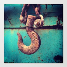 Rusty Vintage Auto Salvage Canvas Print