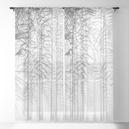 WILLOW TREE Sheer Curtain
