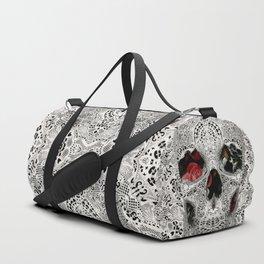 Lace Skull Light Duffle Bag