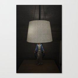 Lamp Random Mary Canvas Print
