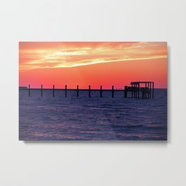 Bokeelia's Good Night Metal Print