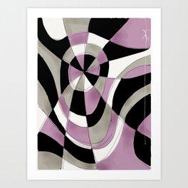 Purple Haze V Art Print
