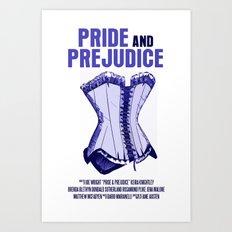 Pride And Prejudice Movie Poster Art Print