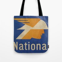 the national Tote Bags featuring National Logo by Bruce Stanfield