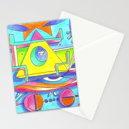 happy life episodes Stationery Cards