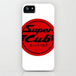 Red Honda Super Cub iPhone Case