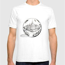 City in a Glass Ball T-shirt