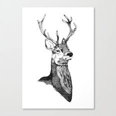 Noble Stag Canvas Print