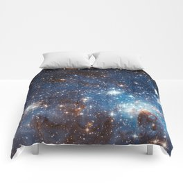 Large and Small Stars in Harmonious Coexistence Comforters