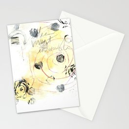 """""""Together"""" by artist Kymberlee della Luce, 2018 Stationery Cards"""