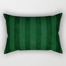 Emerald Stripes Rectangular Pillow