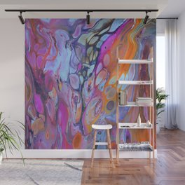 Colour Bubble Wall Mural