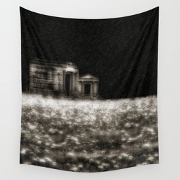 Lit By The Rich Skies Wall Tapestry