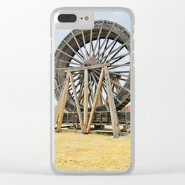 Fort Steel waterwheel Clear iPhone Case