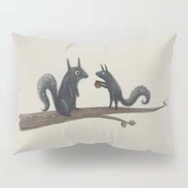 Autumn Squirrels Pillow Sham