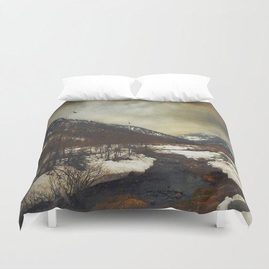 Wild Winter Valley Duvet Cover