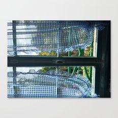 Monet's Kitchen Canvas Print