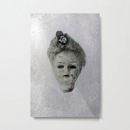 creepy doll Metal Print