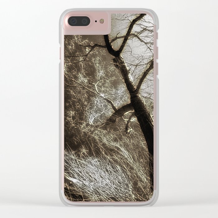 Beyond The Eyes Clear iPhone Case