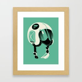 Super Motherload - Keep Helmet On Framed Art Print