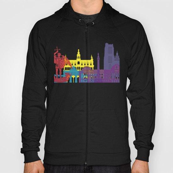 Brussels skyline pop Hoody