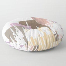 Pastel Mountains Floor Pillow
