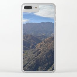 Mountain Beauty Part 6 Clear iPhone Case