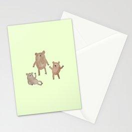 Three Bears Stationery Cards