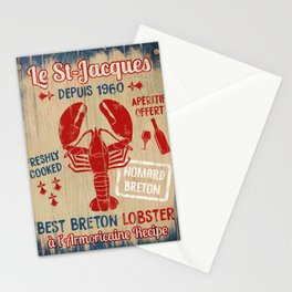Le St-Jacques Lobster Shack Stationery Cards