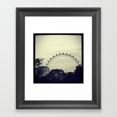 'LONDON EYE' Framed Art Print