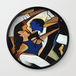 Dance with Me Wall Clock