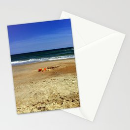 A Day in the Sand Stationery Cards