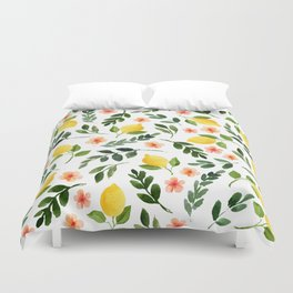 Lemon Grove Duvet Cover