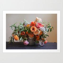 Flower Design 8 Art Print