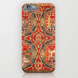 Mandala Buddhist 3 iPhone Case