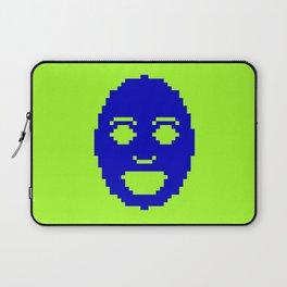 Pixel Face Laptop Sleeve