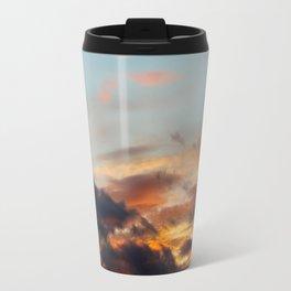 Dreamy Fiery Clouds Travel Mug