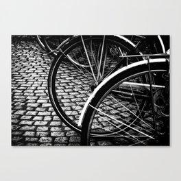 Squares And Circles Canvas Print