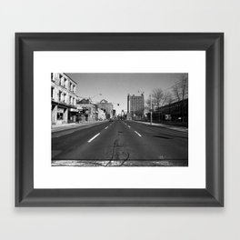 Off Queen - Jarvis Street - North Framed Art Print