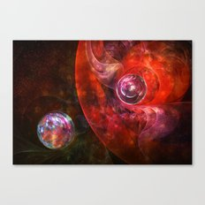 Spheres of Fire Canvas Print