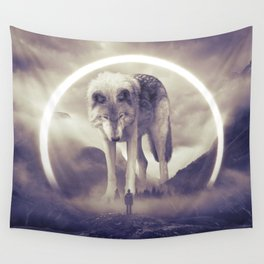 aegis II | wolf Wall Tapestry