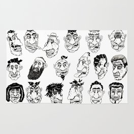 Shafted! Character sheet Rug