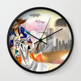 SCAPE AWAY. Wall Clock