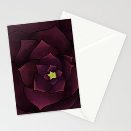 The Purple Rose Stationery Cards