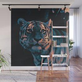 Tiger, Sunset Wall Mural